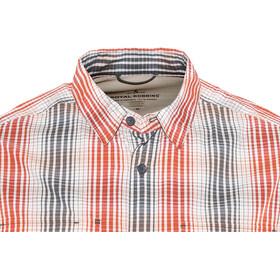 Royal Robbins Vista Chill Plaid Longsleeve Shirt Heren, crimson